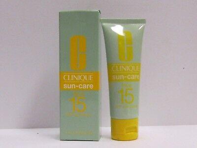 Clinique Sun Care For Face SPF 15 Sunblock 1.7 oz New in Box Clinique Spf 15 Sunscreen