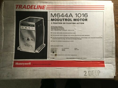 Honeywell M644A1016 Modutrol Motor 2 position or floating action New in box