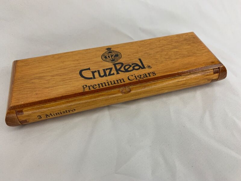 Nice Unique Cigar Box Cruz Real RARE