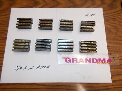 Landis Thread Chasers 34 X 12 Pitch Used