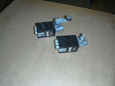 Lot Of 2 Aro Pneumatic Limit Switches 5548