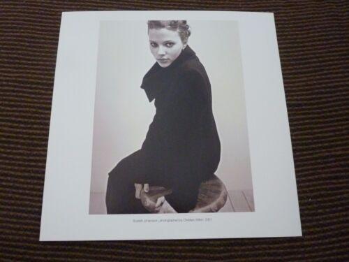 Single Page 2 Side Scarlett Johansson Lynette Love Coffee Table Book Photo