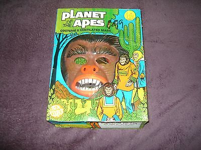 VINTAGE 1974 PLANET OF THE APES COSTUME (BEN - Planet Of The Apes Costumes