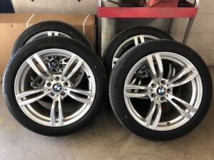 19inch staggered BMW reps with Michelin run flats