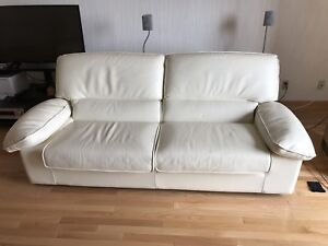 Imported from France - Set of Premium Leather Couches