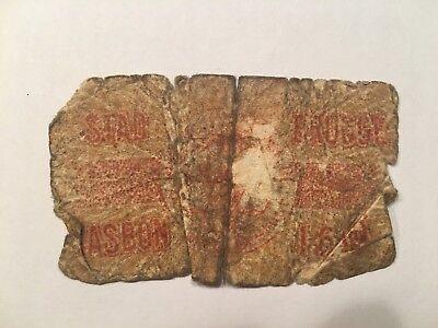 Stad Brugge Kas Bon 5 Cents 1916