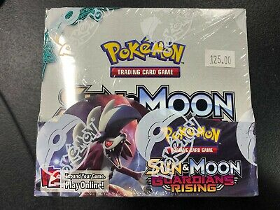 Guardian Rising - Pokemon Sun & Moon - Factory Sealed English Booster Box