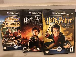 Harry Potter Games (game cube)