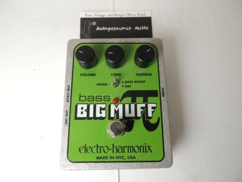 Electro Harmonix Bass Big Muff Fuzz Effects Pedal Free USA Shipping