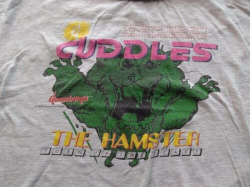 Vintage 90s Goosebumps Cuddles the Hamster T-shirt Youth XL