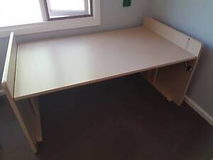 Adjustable Height Laminated Work Desk Downer North Canberra Preview