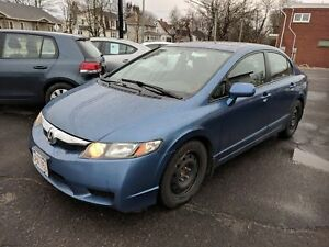 2009 Honda Civic LX Sport Sunroof, 5 speed, nice shape! 2 sets t
