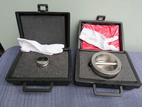 Set of 2 Troemner 1 KG and 5KG for calibration. with cases