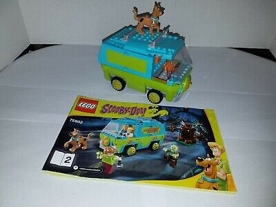 LEGO The Mystery Machine 75902 Near Complete Missing Figures/Tree Nice Rare!