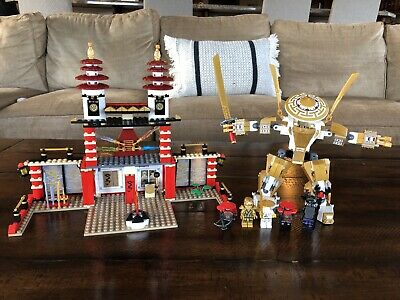 LEGO Ninjago Temple Of Light 70505 Complete