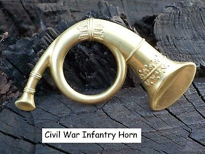 Old Rare Vintage Antique Civil War Relic Infantry Horn Great Christmas Gift
