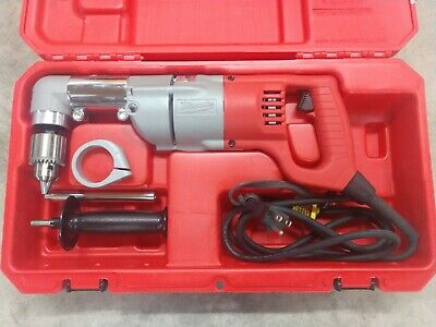 Milwaukee 7 Amp 12 Corded Heavy Right-angle Drill Kit Model 3107-6