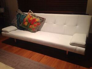 2 x Brand new futon style lounge/single sofa bed Port Kennedy Rockingham Area Preview