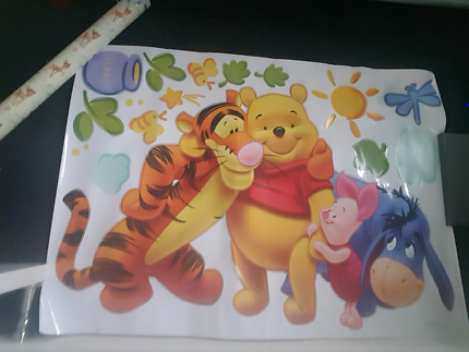 Large Winnie The POOH Wall Stickers Part 51
