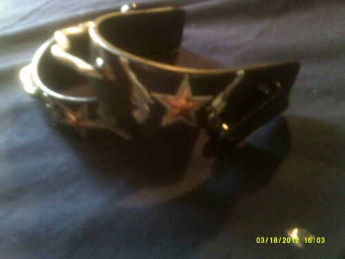 Spurs, Bumper Show Style Double Pistol with Star Overlay