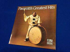 PAVAROTTIS-SONGS-GREATEST-HITS-L-P-LP-VINYL-LONG-PLAYER-USED