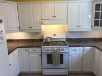 Custom tile installation and trim carpentry