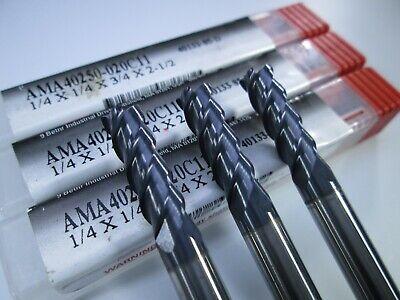 "new DATA FLUTE CNC 3//8/"" x 3//8/"" x 1//2/"" x 4/"" 2FL Solid Carbide End Mill 33611"