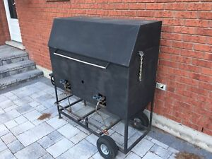Commercial style propane BBQ