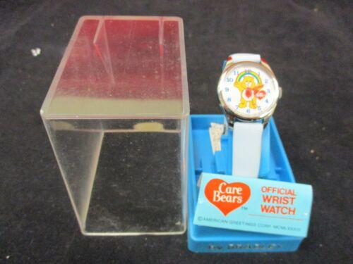 Vintage 1983 Bradley Care Bears Have a Heart Bear Wrist Watch Unused in Box