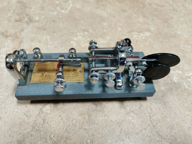 1964 Vibroplex Blue Racer Bug Telegraph Key