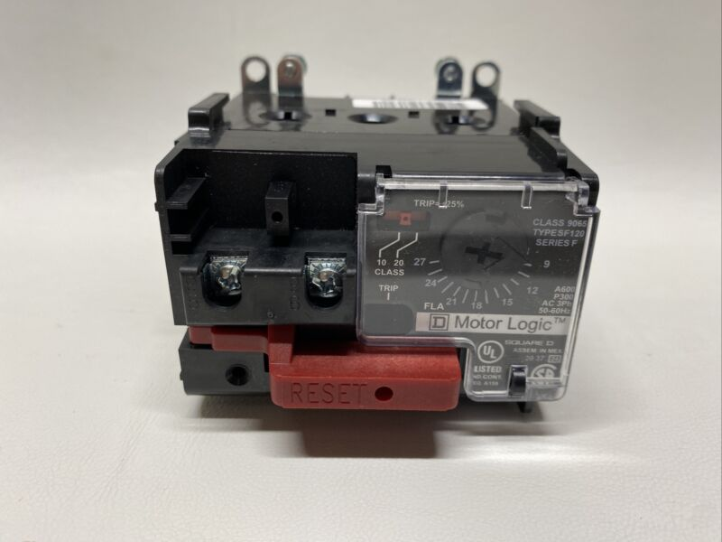 NEW Square D 9065SF120 Solid State Overload Relay