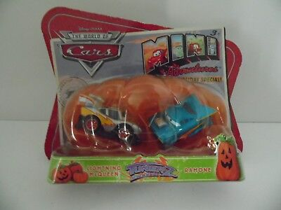 Cars 1 Mini Adventures Holiday Special Tunerz Lightning McQueen & Ramone 2 pack ](Halloween Special Garfield)