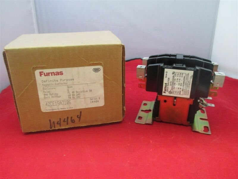 Furnas Magnetic Contactor 42CE15AJ106 new