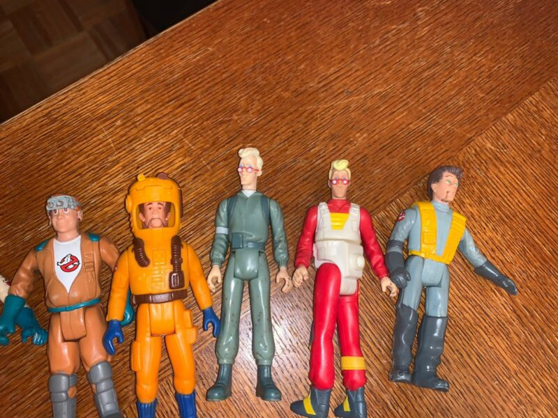 The Real Ghostbusters figure lot all original 6 vintage