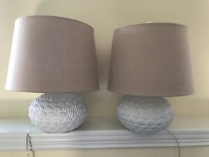 Beach shell lamps for sale