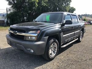 2004 Chevrolet Avalanche 1500 Z71 AWD