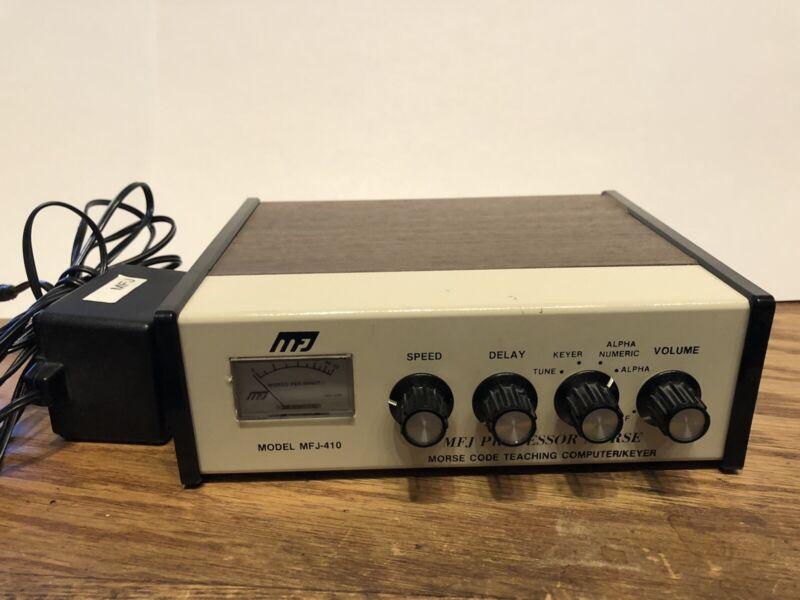 MFJ Professor Morse Model 410 - Morse Code Teaching Computer / Keyer