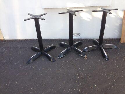 Cafe Bar Restaurant table bases odd grunge  Middle Park Port Phillip Preview