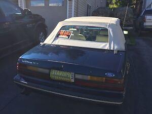 1983 Mustang 5.0 Convertible