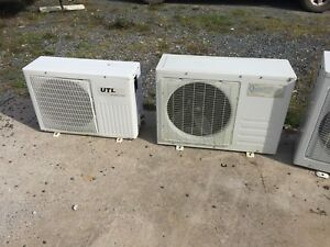 Heat pumps and Ac units for parts.