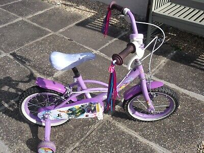 Childs bike - Pink- Disney- Stabilisers- Bell etc