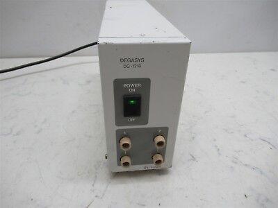 Uniflows Degasys Dg-1210 Degasser 2 Channel Vacuum Lab Unit