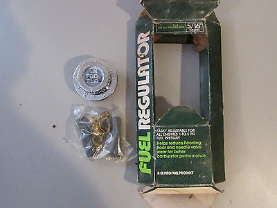CR Industries Pro  Fuel Regulator New Fits All Engines W 516 Fuel Lines