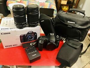Canon EOS 60D DSLR Camera $1200 or OBO