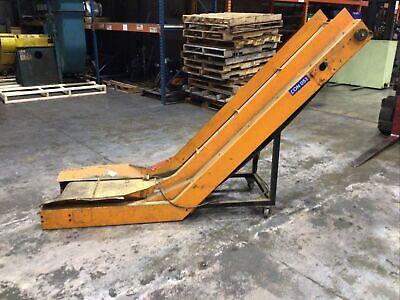 Laros E-525-18-36-69-45 Inclined Belt Conveyor 115v 18 W 57 Height 417taw