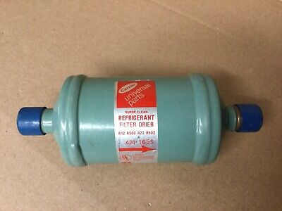 Carrier Universal Parts Refrigerant Filter Drier 431-165s R12 R500 R22 R502
