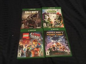 Lot Of 4 Xbox One Games