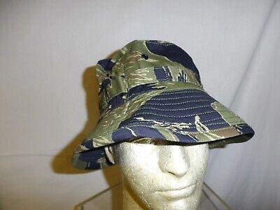 vnth-58 Tiger Stripe Boonie Hat 7 1/4 (58) matches vnt listed uniform W2E