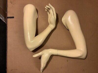Mannequin Manikin Arms Hands Vintage Maniquin Arm Left Right