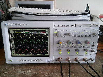Hp Agilent Keysight 54845a 1.5ghz 8gsas Infiniium Digital Oscilloscope Dso.